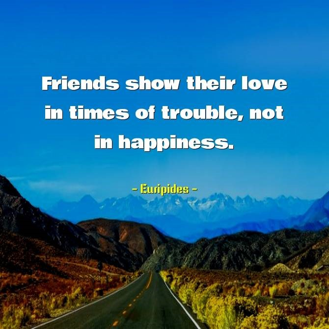 Importance of Friendship Quotes